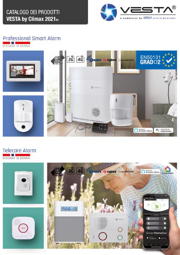Catalogo immagine di download antifurto Vesta